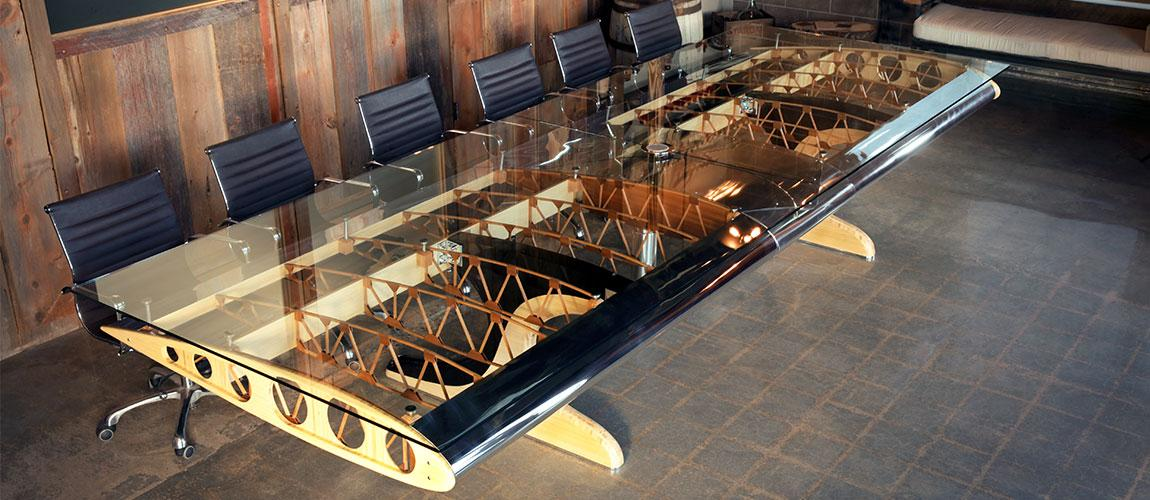 Conference Room Table Storage