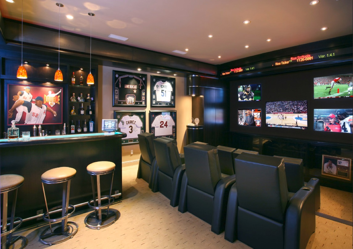 17 Killer Man Cave Ideas : DudeLiving