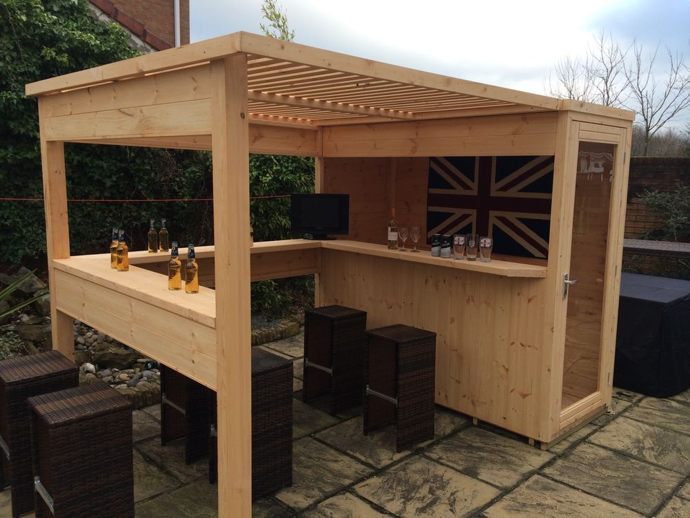 The benefits of the phenomena known as the bar shed for Construire un bar exterieur en bois