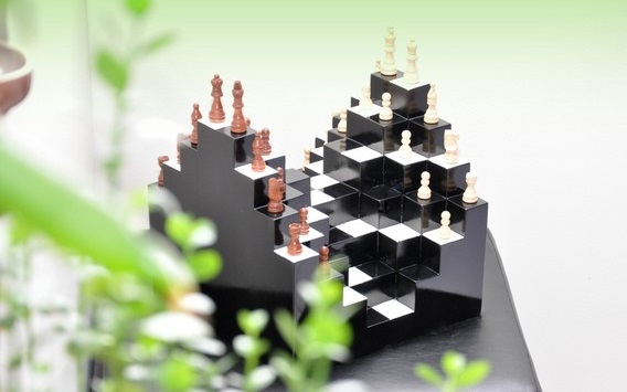 3d Chessboard Chess From A Whole New Angle Dudeliving
