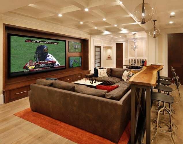 Man Cave Ideas For The Outdoorsman : Finding sweet seating for your man cave dudeliving