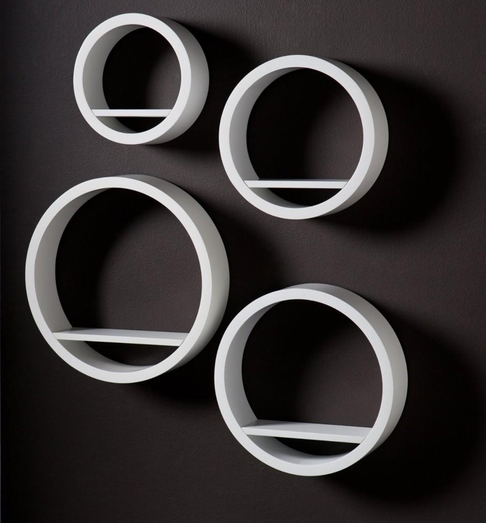 circular shelves