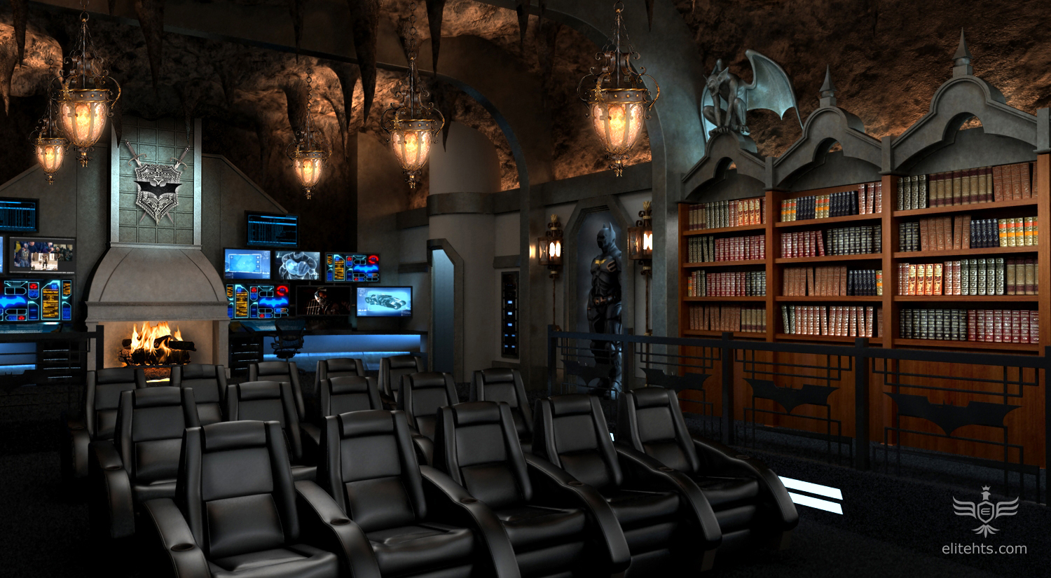 Movie Man Cave Ideas : Best man cave theme ideas part dudeliving
