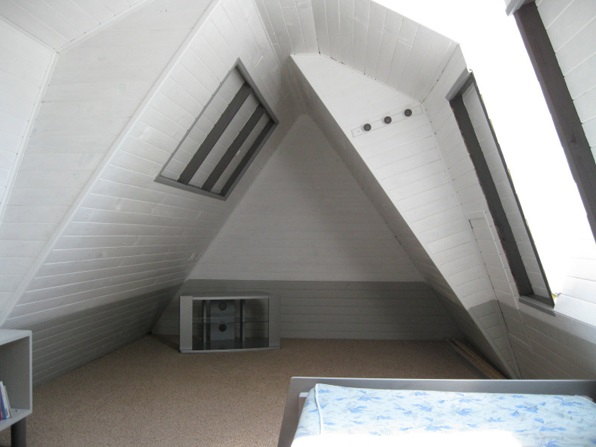 lean to attic space ideas - How to turn any Attic into a Dude Living Style Man Cave