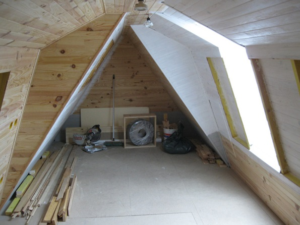 Small Attic Man Cave : How to turn any attic into a dude living style man cave